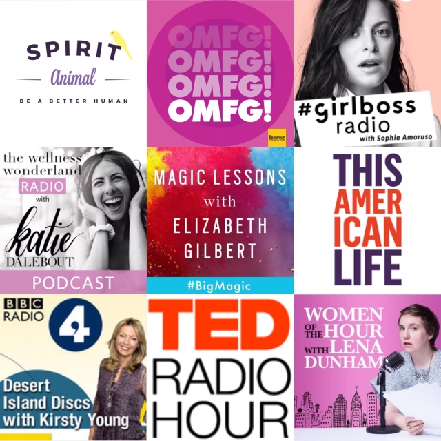 Podcasts grid